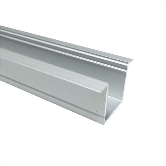 Silver U05 36x24mm U-Shape Internal Width 20mm LED Aluminum Channel System with Cover, End Caps and Mounting Clips Aluminum Profile for LED Strip Light Spot Free Installations