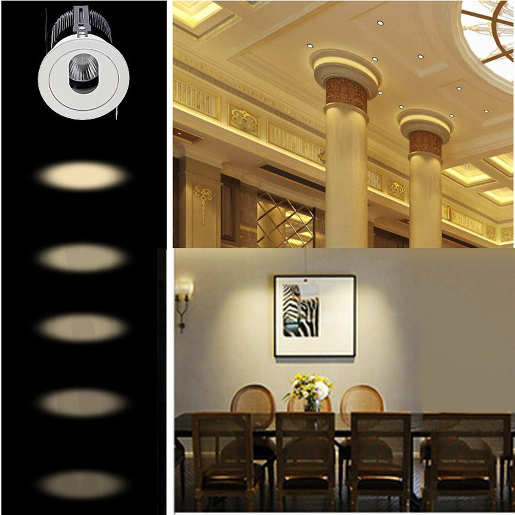 Ellipse Stunning Interior Decorative Recessed Roof Mounting Downlights