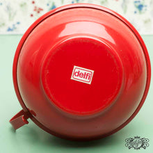 Load image into Gallery viewer, red vintage lantern delfi mark