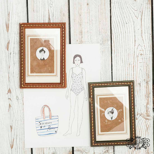 vintage table frames