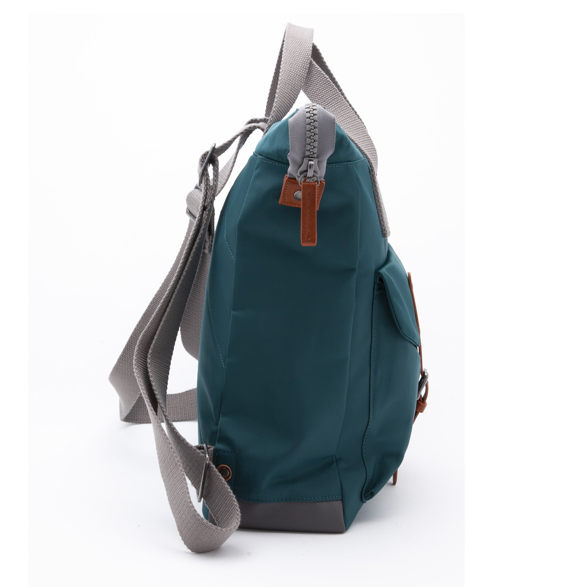 Ori Backpacks and Bags | Bantry C with front clasp | Color - Teal