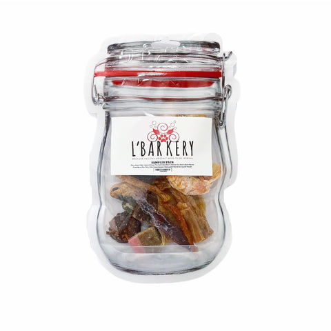 L'BARKERY Treat Sampler Pack - Pawear Co.