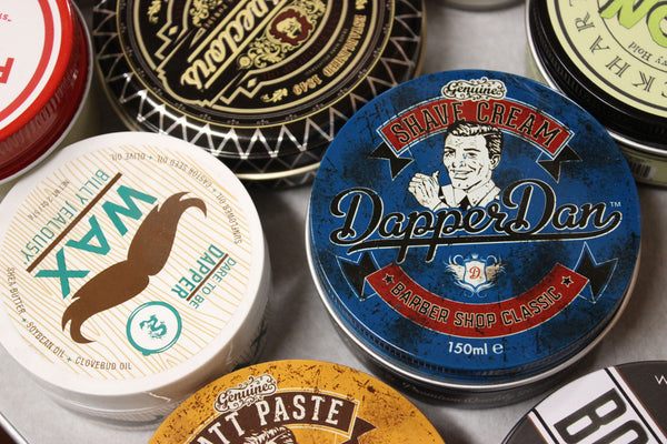 Dapper Dan Shave Cream, Murray's Black Beeswax