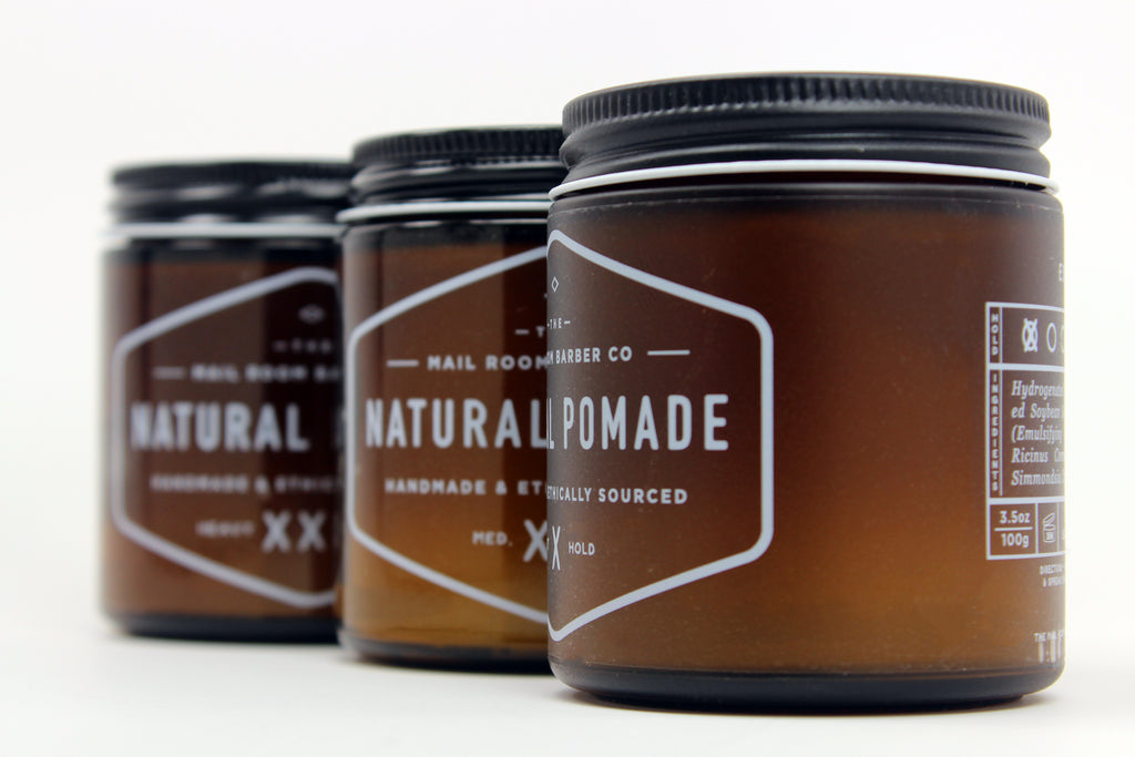 The Mail Room Barber Natural Pomades