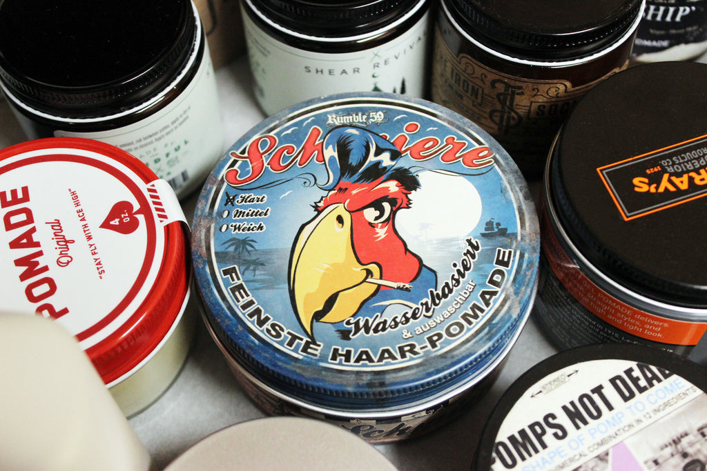 Schmiere waterbased, PND Shape of Pomp To Come, Rustin Pomade