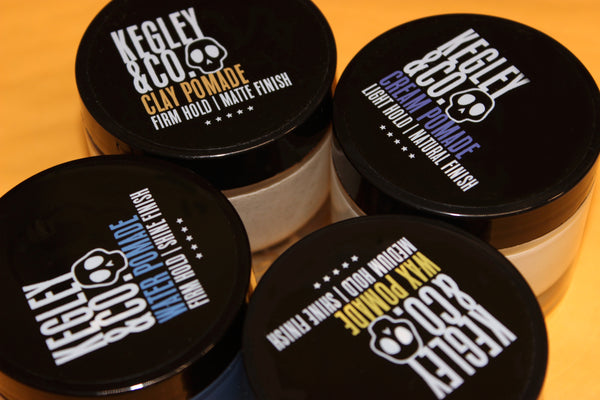 Kegley and Co, Tip Top Pomade, Prospectors Matte Clay
