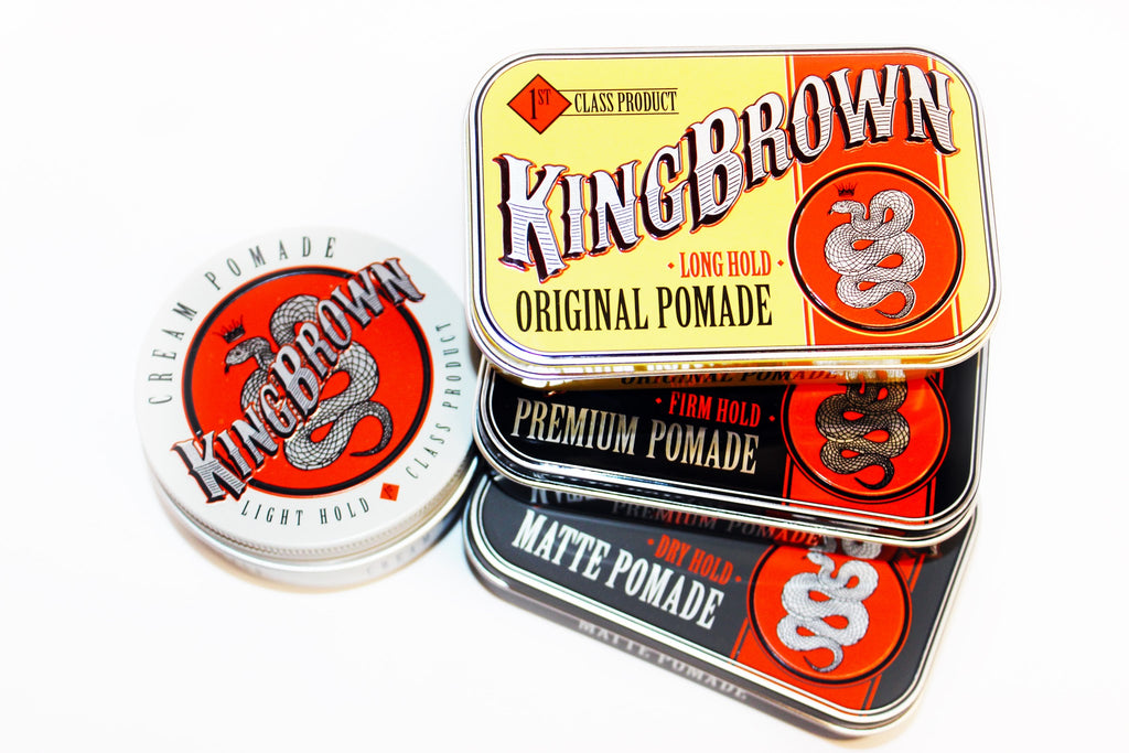 King Brown Pomade Tin, Doc Elliot