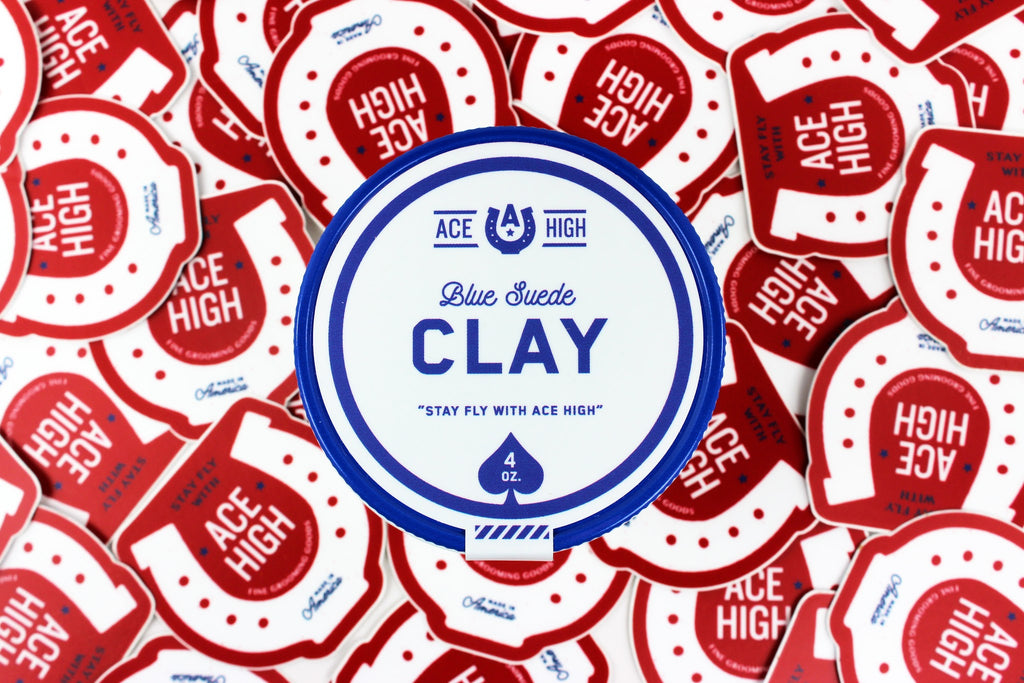 Blue Suede Clay, Free Combs This Weekend