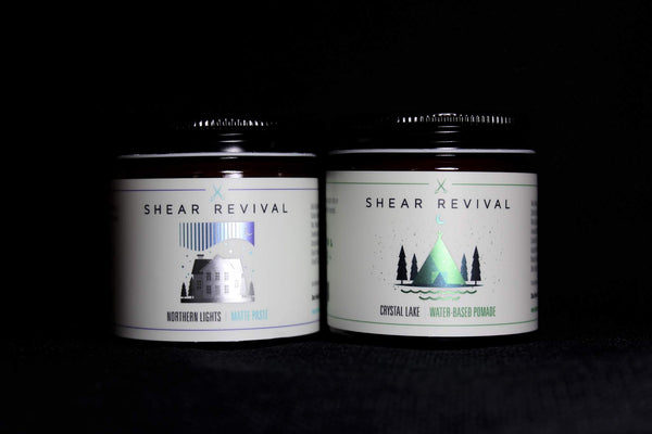 Shear Revival Northern lights & Crystal Lake