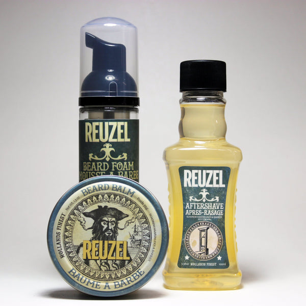 Reuzel Aftershave/ Beard Foam & Balm