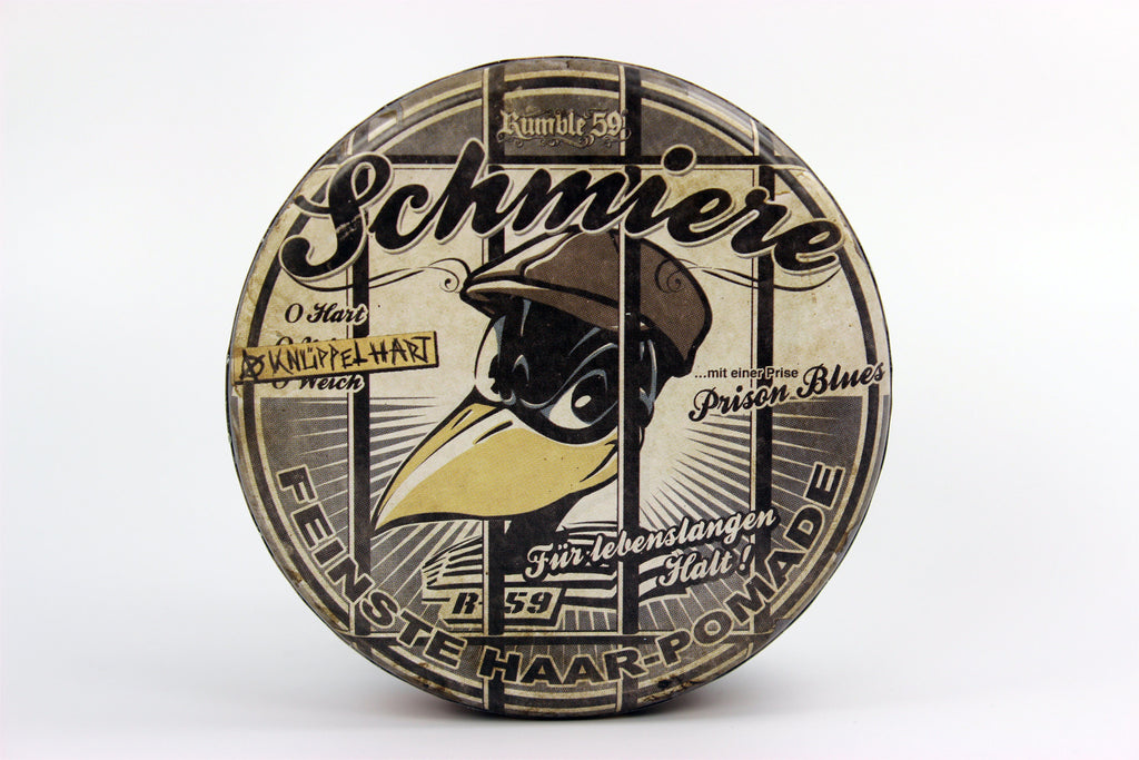 Rumble 59 Schmiere Oil-Based and Water-Based Pomades