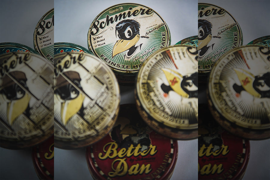 Schmiere Waterbased And Oilbased Pomades
