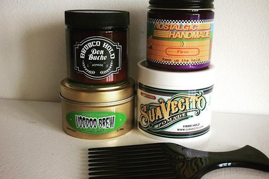 Return Customers, Super Slick Hair, Heart and Heritage Pomades