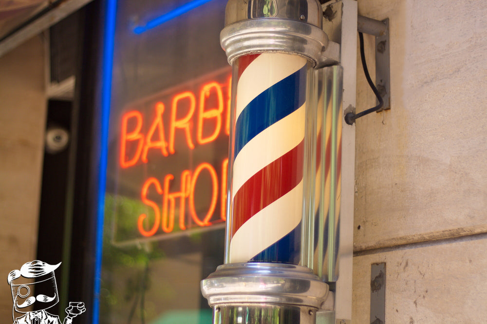 Post Your Barber Shop, Pomps Not Dead Slick Of It All