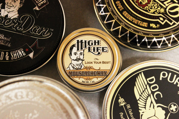 High Life Moustache Wax, Gentleman's Cut