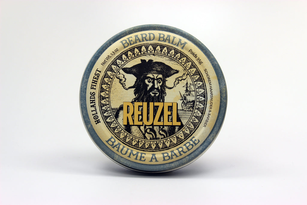 Reuzel Beard Balm, Gentleman's Natural Part, Friday Night Action