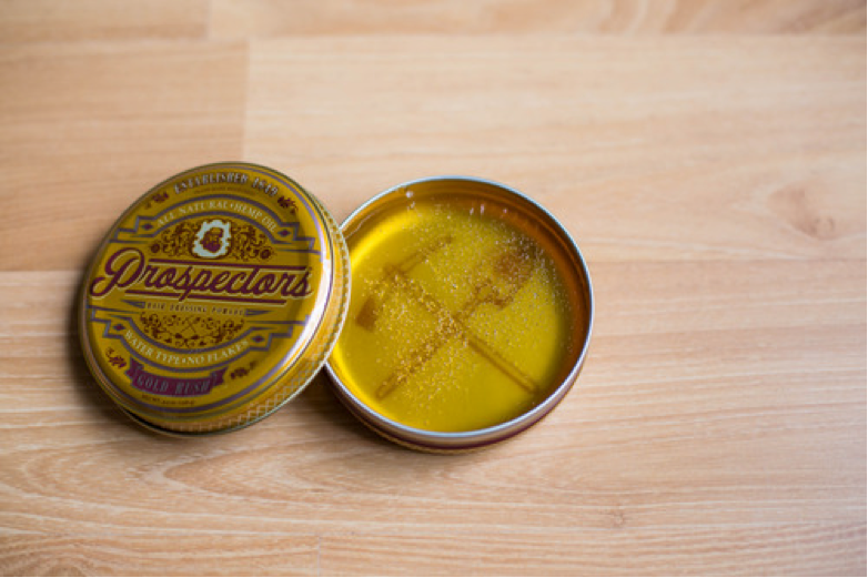 Prospectors Pomade - Gold Rush Open Can