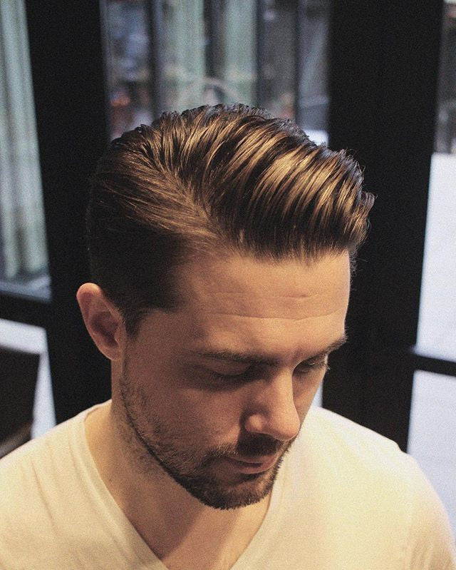 Well groomed gentleman with sidepart
