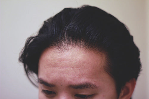 How to style a pompadour - Step 1
