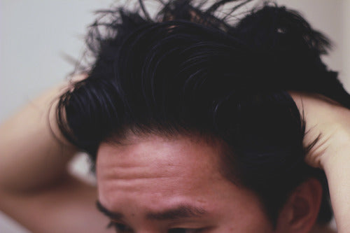 How to style a pompadour - Step 5