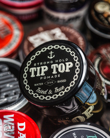 Tip Top Strong Hold Pomade
