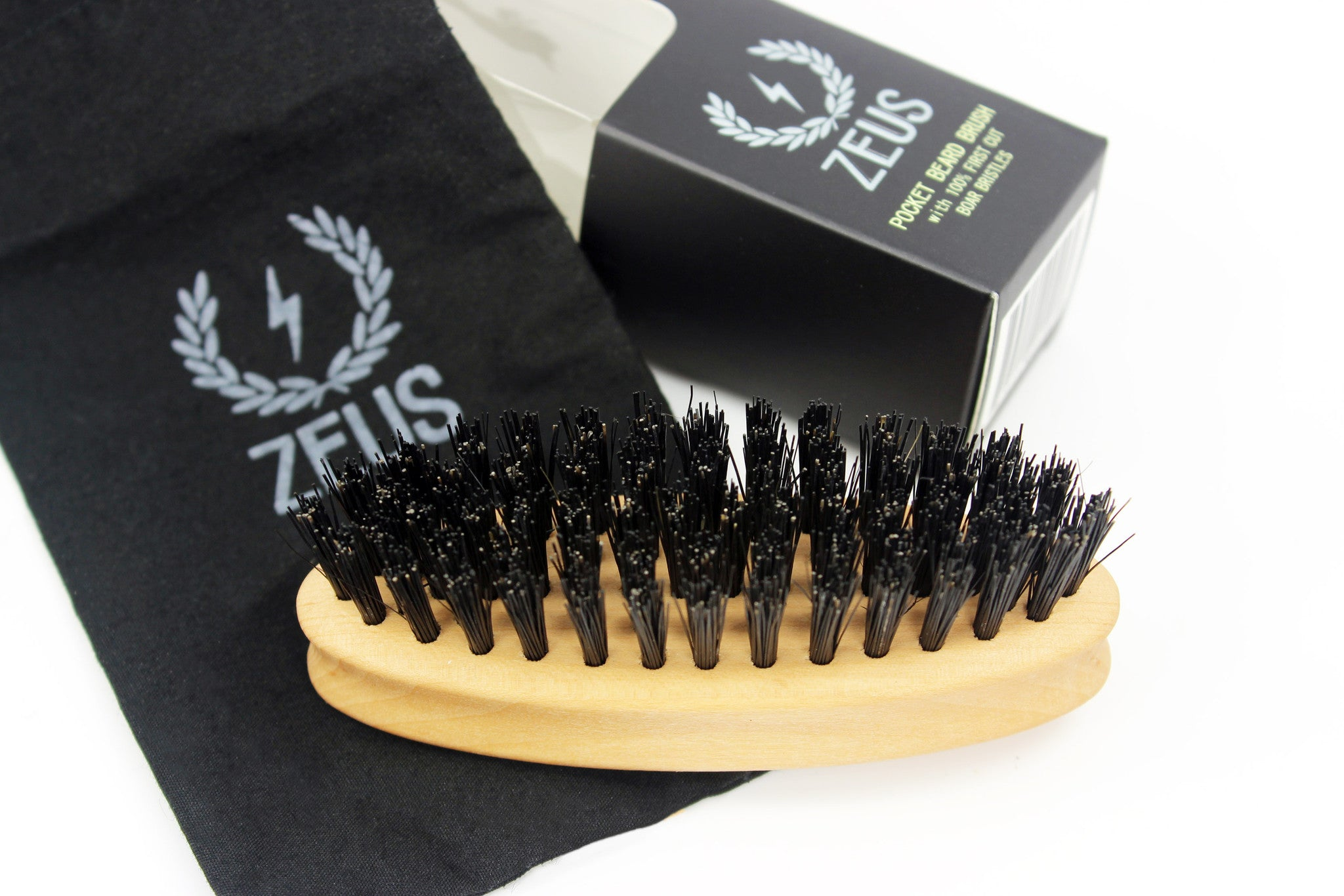 Zeus Brand Beard Comb and Storage Bag