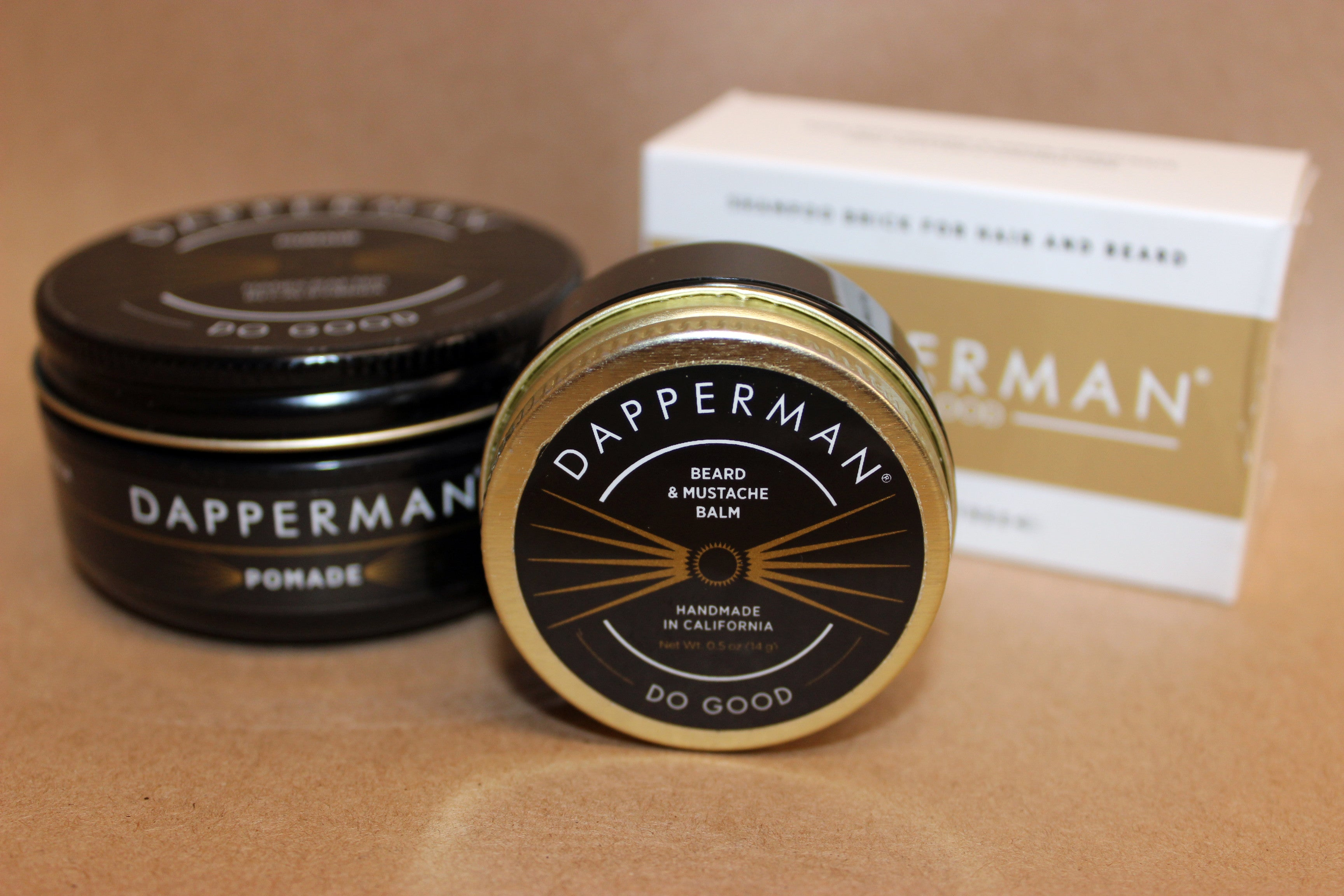 DapperMan Beard and Mustache Wax