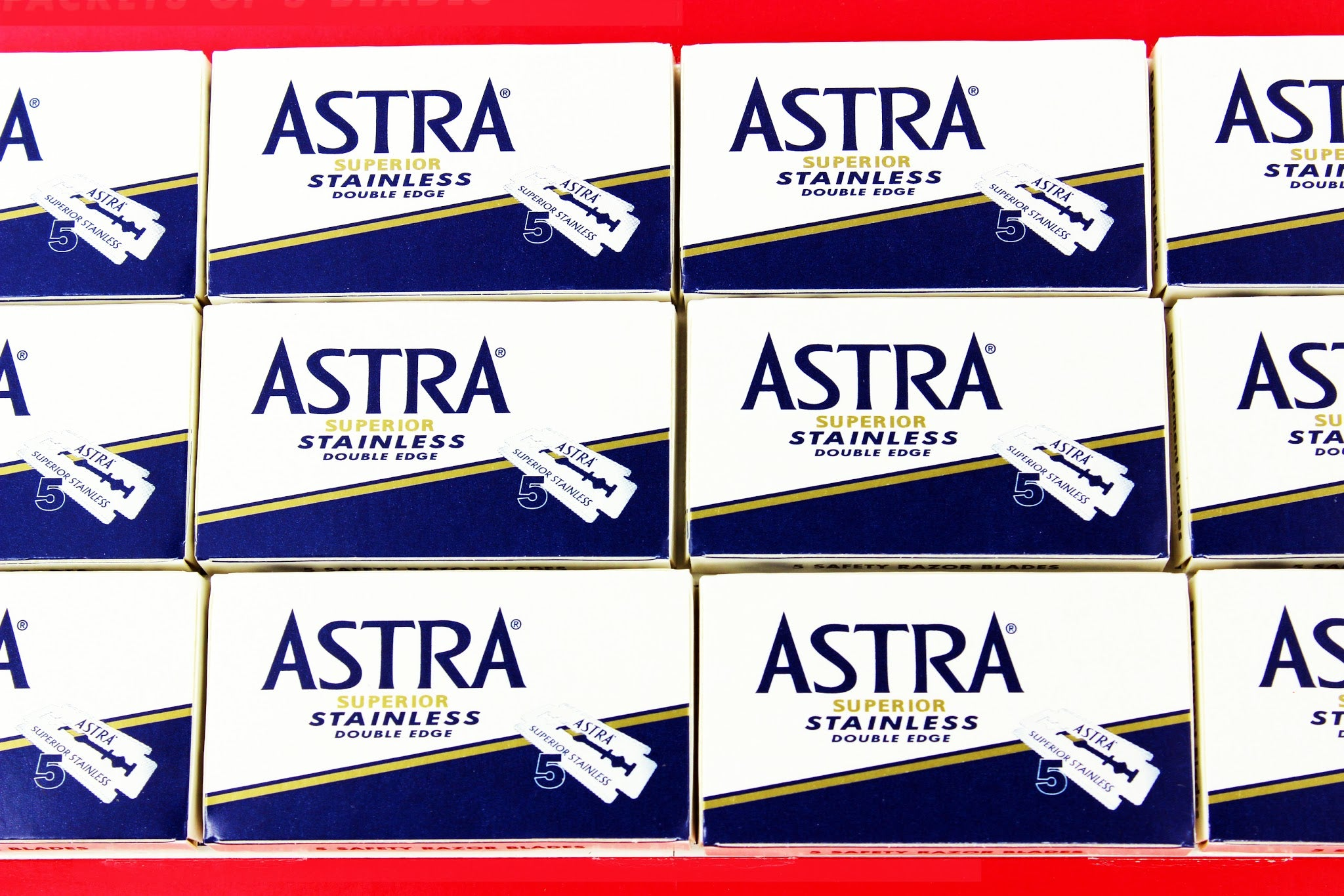 Astra Double Edge Shaving Razors
