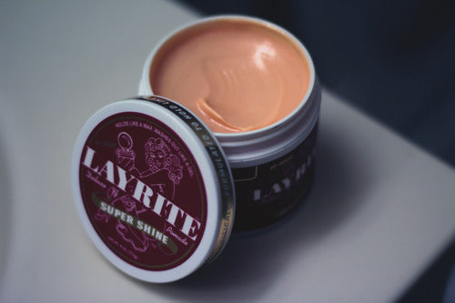 Layrite Super Shine Pomade Uncapped