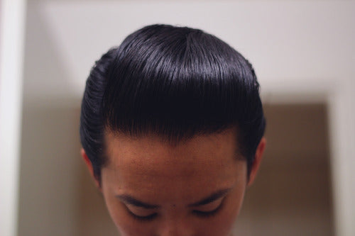 The Pomp, Hair Styled With Reuzel Pomade