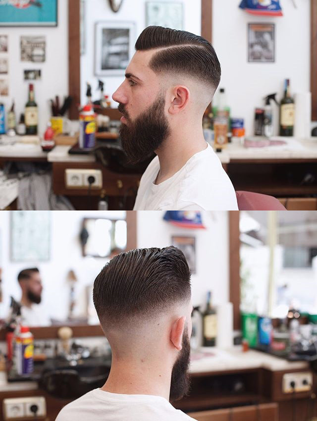 Beautiful Haircut by Barber From Barberia Porto