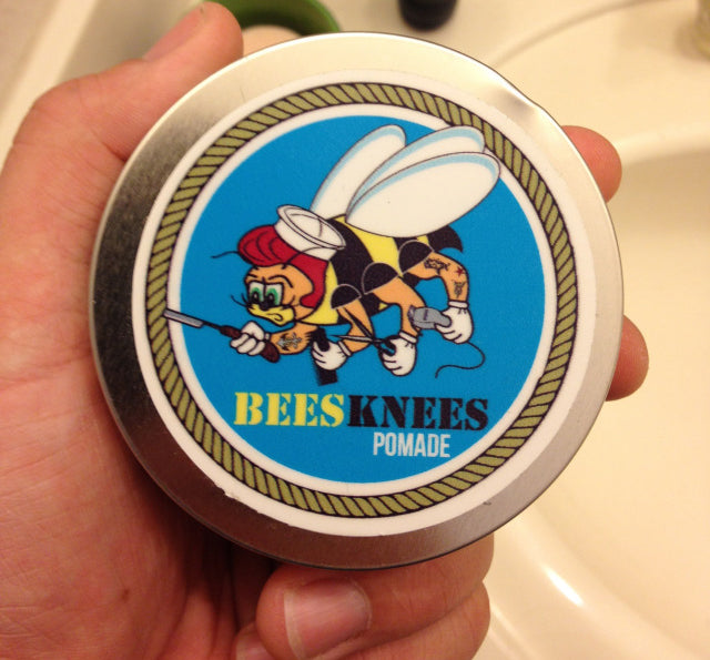 Bees Knees Pomade Original Top Label