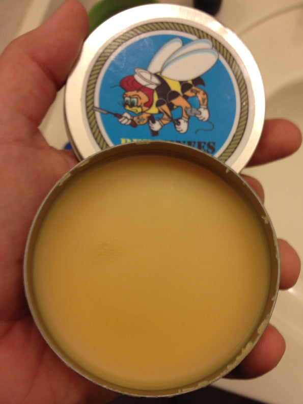 Bees Knees Pomade Original Open Can