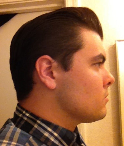 Black and White Lite Pomade Pomp