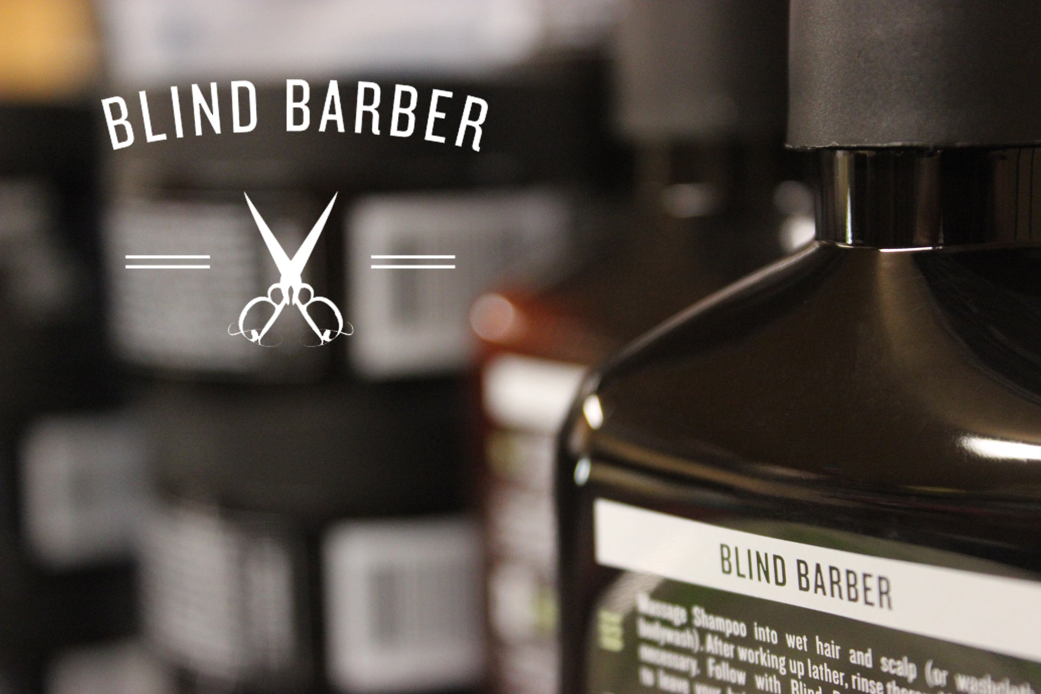 Blind Barber products available at Mr. Pomade