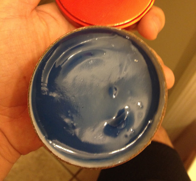 Blue Magic Pressing Oil open can