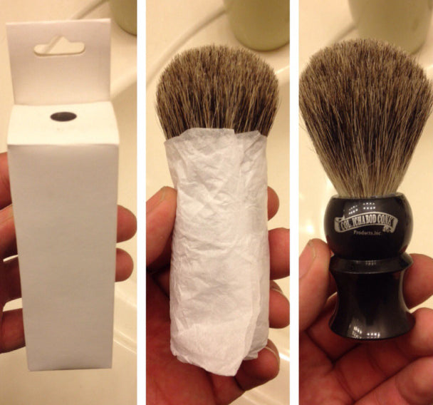 Col. Conk Black Shave Brush