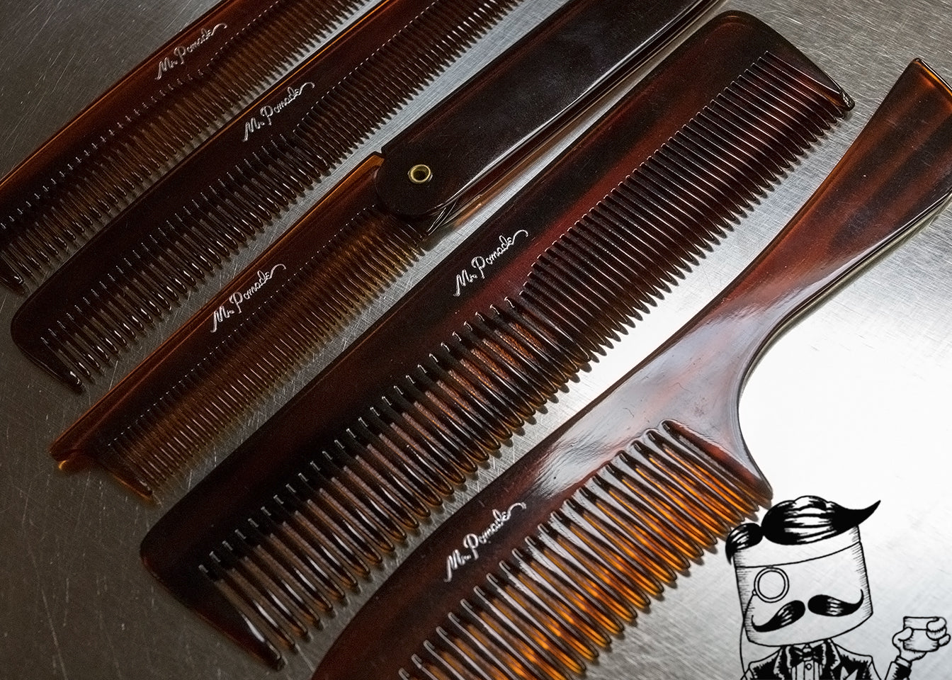 Mr. Pomade Premium Combs