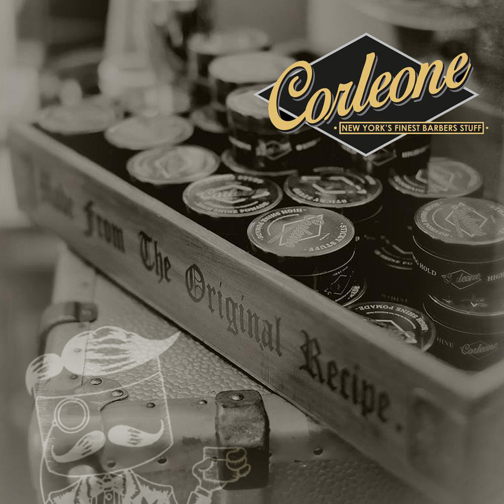 Available now from Mr.Pomade! Corleone Hair Pomade