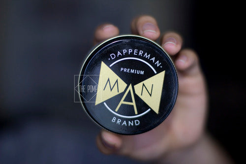 Dapper Man Premium Pomade can