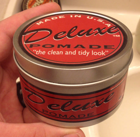 Deluxe Pomade can