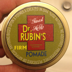 Dr Rubins Firm Pomade