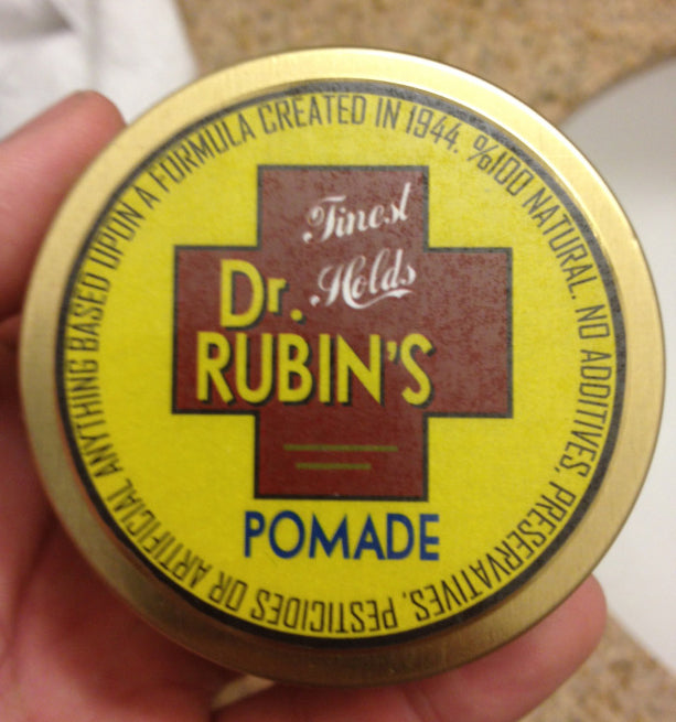 Dr. Rubins Original Pomade top label
