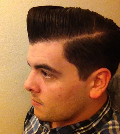 Grandad's old Fashioned Pomade pomp side view