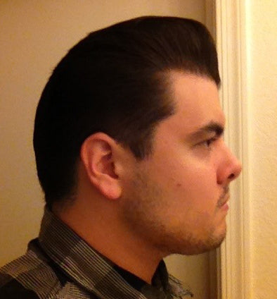 Grant's Golden Brand Pomade Matte Dressing pomp side view