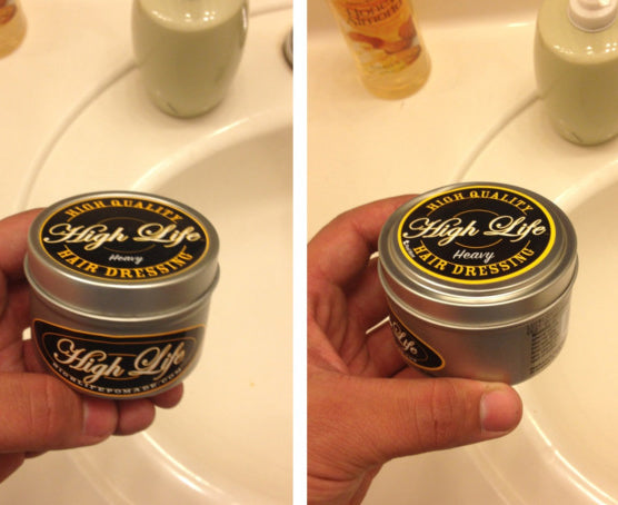 High Life Heavy Pomade can
