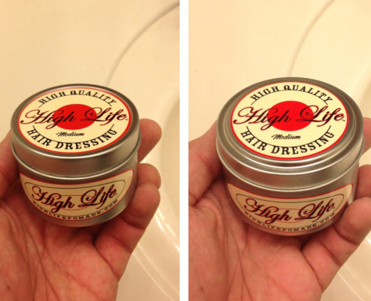 High Life Medium Pomade can