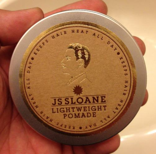 JS Sloane Lightweight Brilliantine top label