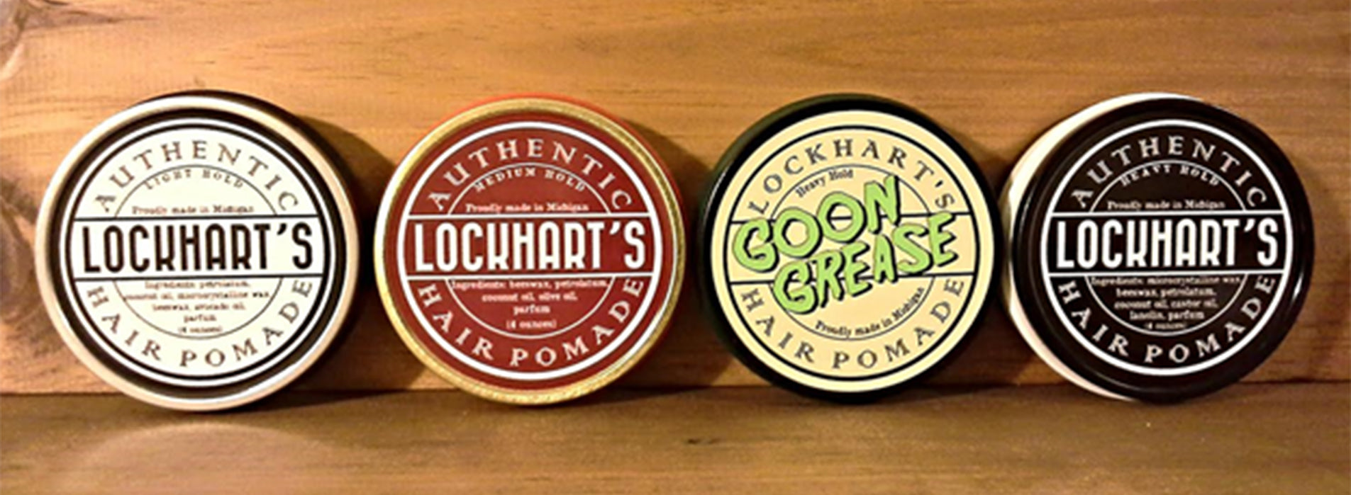 Lockhart's Authentic Pomades