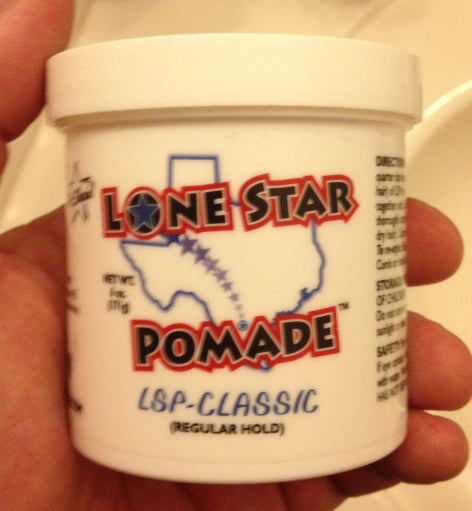 Lone Star Pomade Classic Hold tub